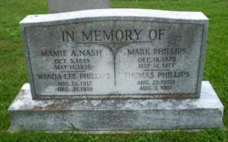 NASH, MAMIE A - Craighead County, Arkansas   MAMIE A NASH - Arkansas Gravestone Photos