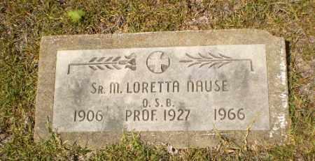 NAUSE, SISTER M. LORETTA - Craighead County, Arkansas | SISTER M. LORETTA NAUSE - Arkansas Gravestone Photos