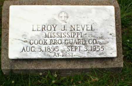 NEVEL  (VETERAN), LEROY J - Craighead County, Arkansas | LEROY J NEVEL  (VETERAN) - Arkansas Gravestone Photos