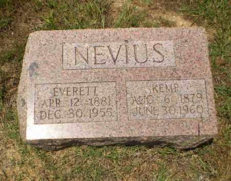 NEVIUS, EVERETT - Craighead County, Arkansas | EVERETT NEVIUS - Arkansas Gravestone Photos