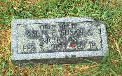 NICHOLAS, INFANT SON - Craighead County, Arkansas | INFANT SON NICHOLAS - Arkansas Gravestone Photos