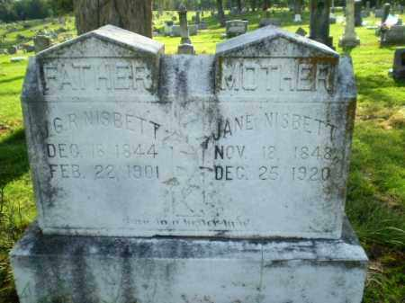 NISBETT, JANE - Craighead County, Arkansas | JANE NISBETT - Arkansas Gravestone Photos