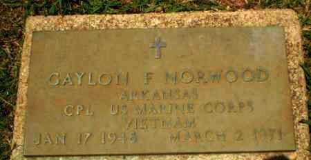 NORWOOD  (VETERAN VIET), GAYLON F - Craighead County, Arkansas | GAYLON F NORWOOD  (VETERAN VIET) - Arkansas Gravestone Photos