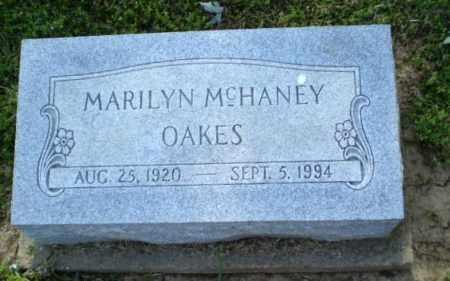 MCHANEY OAKES, MARILYN - Craighead County, Arkansas | MARILYN MCHANEY OAKES - Arkansas Gravestone Photos