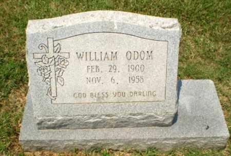 ODOM, WILLIAM - Craighead County, Arkansas   WILLIAM ODOM - Arkansas Gravestone Photos