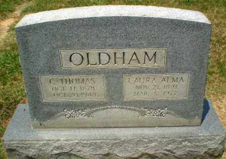 OLDHAM, C.THOMAS - Craighead County, Arkansas   C.THOMAS OLDHAM - Arkansas Gravestone Photos