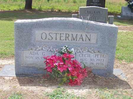 OSTERMAN, CECIL (PETE) - Craighead County, Arkansas | CECIL (PETE) OSTERMAN - Arkansas Gravestone Photos