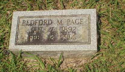 PAGE, BEDFORD M - Craighead County, Arkansas   BEDFORD M PAGE - Arkansas Gravestone Photos
