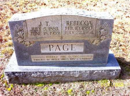 PAGE, J.T. - Craighead County, Arkansas   J.T. PAGE - Arkansas Gravestone Photos