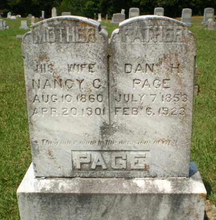PAGE, NANCY C - Craighead County, Arkansas | NANCY C PAGE - Arkansas Gravestone Photos