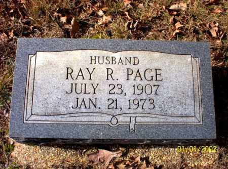 PAGE, RAY  R. - Craighead County, Arkansas | RAY  R. PAGE - Arkansas Gravestone Photos