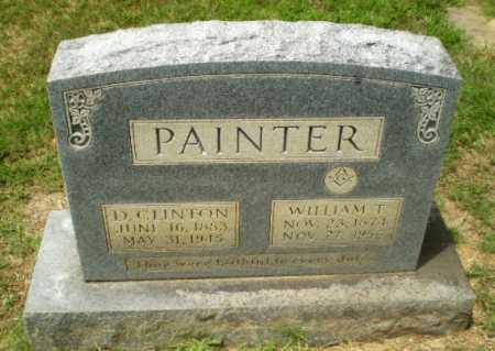 PAINTER, D. CLINTON - Craighead County, Arkansas | D. CLINTON PAINTER - Arkansas Gravestone Photos