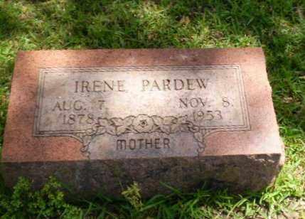 PARDEW, IRENE - Craighead County, Arkansas | IRENE PARDEW - Arkansas Gravestone Photos