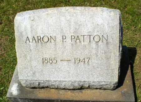 PATTON, AARON P - Craighead County, Arkansas | AARON P PATTON - Arkansas Gravestone Photos