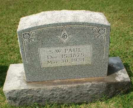 PAUL, S.W. - Craighead County, Arkansas | S.W. PAUL - Arkansas Gravestone Photos