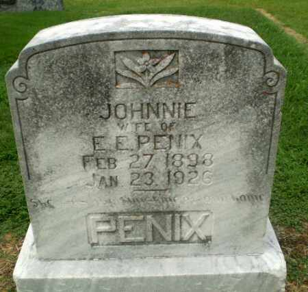 PENIX, JOHNNIE - Craighead County, Arkansas | JOHNNIE PENIX - Arkansas Gravestone Photos