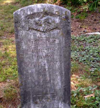 PHILIPS, JAMES A - Craighead County, Arkansas | JAMES A PHILIPS - Arkansas Gravestone Photos
