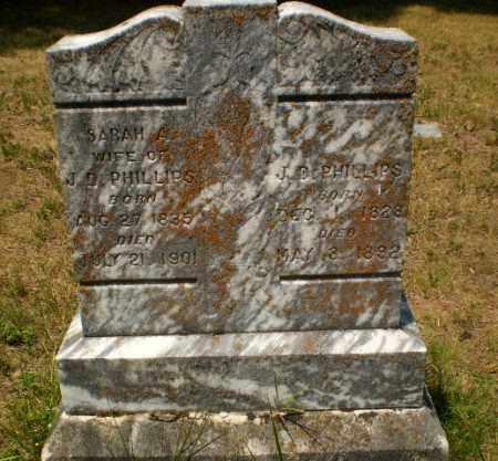PHILLIPS, SARAH A - Craighead County, Arkansas | SARAH A PHILLIPS - Arkansas Gravestone Photos