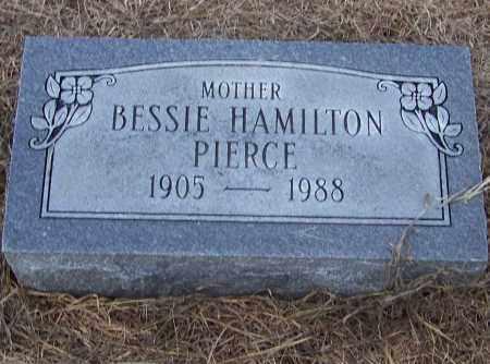 HAMILTON PIERCE, BESSIE HAMILTON - Craighead County, Arkansas | BESSIE HAMILTON HAMILTON PIERCE - Arkansas Gravestone Photos