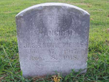 PIERCE, FRANCIS M. - Craighead County, Arkansas   FRANCIS M. PIERCE - Arkansas Gravestone Photos