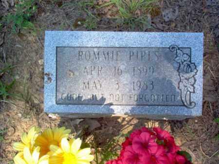 PIPES, ROMMIE - Craighead County, Arkansas | ROMMIE PIPES - Arkansas Gravestone Photos