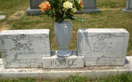 POOLE, ELMER W - Craighead County, Arkansas | ELMER W POOLE - Arkansas Gravestone Photos