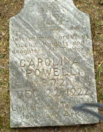 POWELL, CAROLINA - Craighead County, Arkansas | CAROLINA POWELL - Arkansas Gravestone Photos