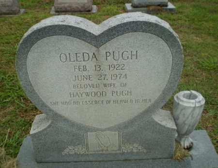 PUGH, OLEDA - Craighead County, Arkansas | OLEDA PUGH - Arkansas Gravestone Photos