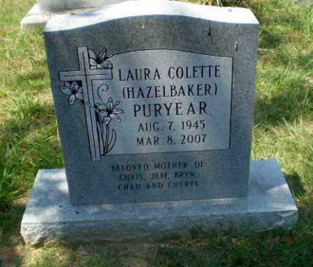 PURYEAR, LAURA COLETTE - Craighead County, Arkansas | LAURA COLETTE PURYEAR - Arkansas Gravestone Photos