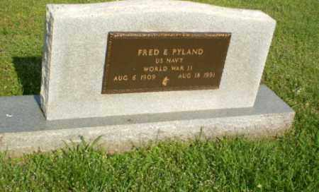 PYLAND  (VETERAN WWII), FRED - Craighead County, Arkansas | FRED PYLAND  (VETERAN WWII) - Arkansas Gravestone Photos