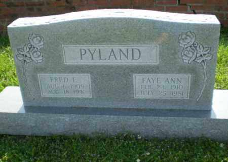 PYLAND, FRED - Craighead County, Arkansas | FRED PYLAND - Arkansas Gravestone Photos