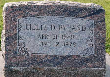 PYLAND, LILLIE D. - Craighead County, Arkansas | LILLIE D. PYLAND - Arkansas Gravestone Photos