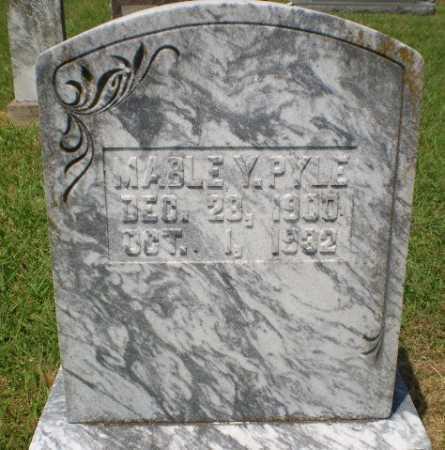 PYLE, MABLE Y - Craighead County, Arkansas | MABLE Y PYLE - Arkansas Gravestone Photos