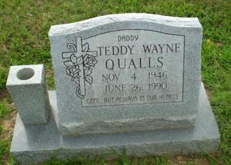 QUALLS, TEDDY WAYNE - Craighead County, Arkansas   TEDDY WAYNE QUALLS - Arkansas Gravestone Photos