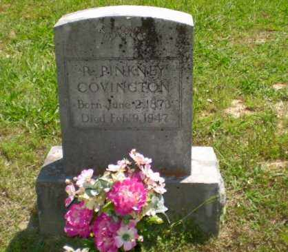 R PINKNEY, COVINGTON - Craighead County, Arkansas | COVINGTON R PINKNEY - Arkansas Gravestone Photos