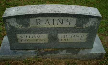 RAINS, WILLIAM F - Craighead County, Arkansas | WILLIAM F RAINS - Arkansas Gravestone Photos
