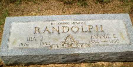 RANDOLPH, FANNIE E. - Craighead County, Arkansas | FANNIE E. RANDOLPH - Arkansas Gravestone Photos