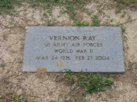 RAY (VETERAN WWII), VERNION - Craighead County, Arkansas | VERNION RAY (VETERAN WWII) - Arkansas Gravestone Photos