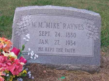 "RAYNES, W.M. ""MIKE"" - Craighead County, Arkansas | W.M. ""MIKE"" RAYNES - Arkansas Gravestone Photos"
