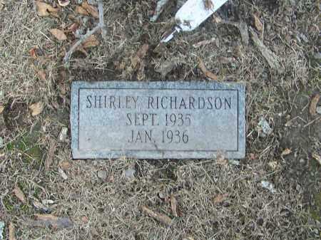 RICHARDSON, SHIRLEY - Craighead County, Arkansas | SHIRLEY RICHARDSON - Arkansas Gravestone Photos