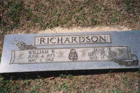 JUSTUS RICHARDSON, JANE ELIZABETH - Craighead County, Arkansas | JANE ELIZABETH JUSTUS RICHARDSON - Arkansas Gravestone Photos
