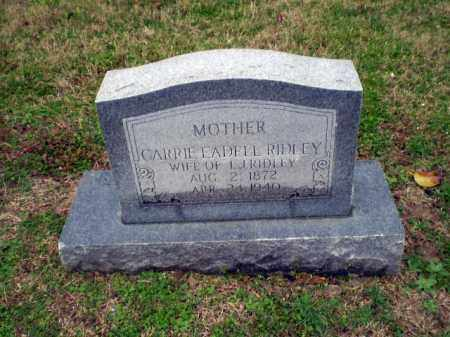 RIDLEY, CARRIE EADELL - Craighead County, Arkansas | CARRIE EADELL RIDLEY - Arkansas Gravestone Photos