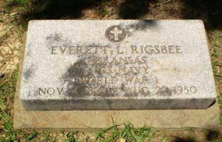 RIGSBEE (VETERAN WWI), EVERETT L. - Craighead County, Arkansas   EVERETT L. RIGSBEE (VETERAN WWI) - Arkansas Gravestone Photos