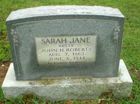 ROBERTS, SARAH JANE - Craighead County, Arkansas   SARAH JANE ROBERTS - Arkansas Gravestone Photos
