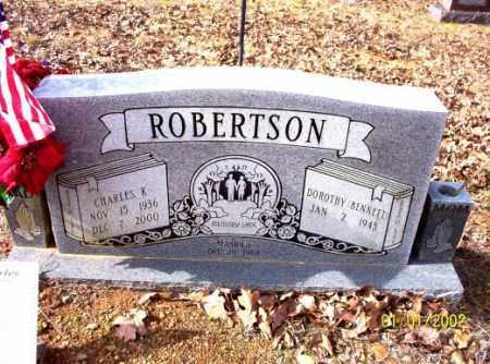 ROBERTSON, CHARLES - Craighead County, Arkansas   CHARLES ROBERTSON - Arkansas Gravestone Photos
