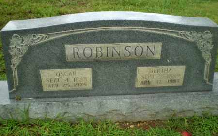 ROBINSON, BERTHA - Craighead County, Arkansas | BERTHA ROBINSON - Arkansas Gravestone Photos