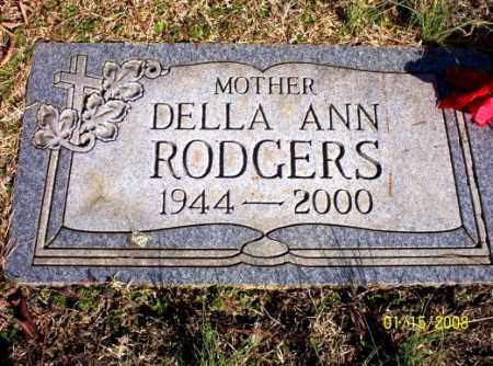 WILLIAMS RODGERS, DELLA ANN - Craighead County, Arkansas   DELLA ANN WILLIAMS RODGERS - Arkansas Gravestone Photos