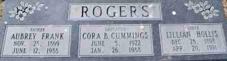 ROGERS, AUBREY FRANK - Craighead County, Arkansas | AUBREY FRANK ROGERS - Arkansas Gravestone Photos