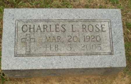 ROSE, CHARLES L - Craighead County, Arkansas | CHARLES L ROSE - Arkansas Gravestone Photos