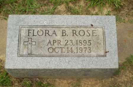 ROSE, FLORA B - Craighead County, Arkansas   FLORA B ROSE - Arkansas Gravestone Photos
